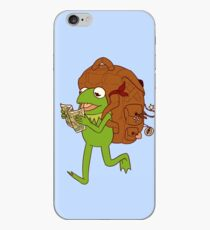 Kermit's movin' right along iPhone Case