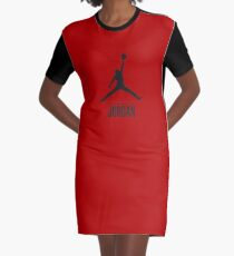 Trending Michael Jordan Graphic T-Shirt Dress