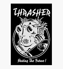 Thrasher // Skate the Future // White Photographic Print