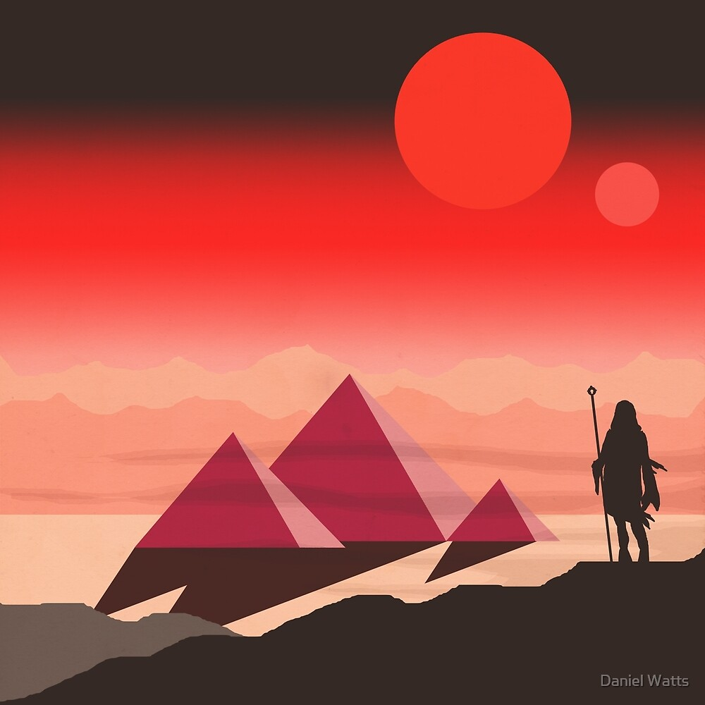 The Traveller by Daniel Watts
