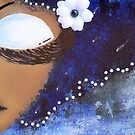 Sassy Girl Blue and White by Tiare Smith