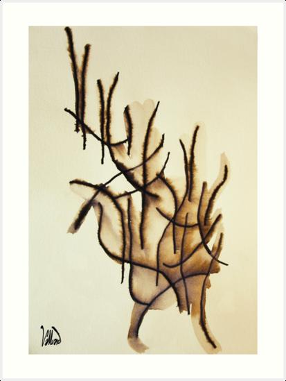 Scribbleau. No. 4 by Valliard