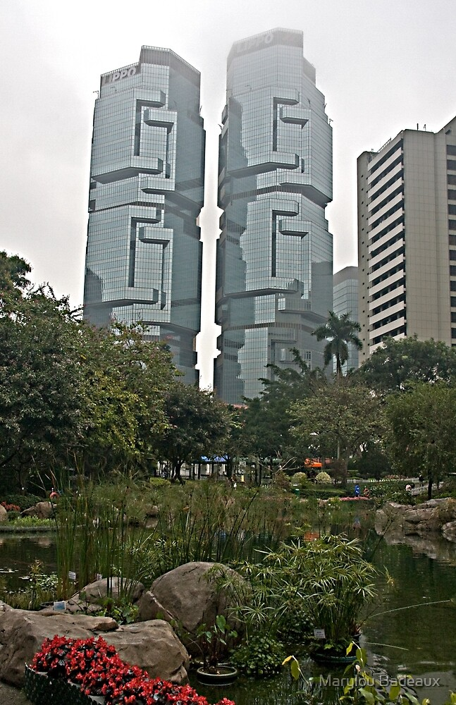 Hong Kong High Rise by Marylou Badeaux