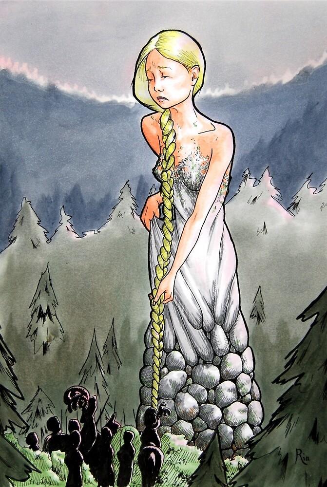 Rapunzel by ria gilham