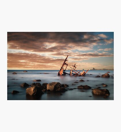 The Wreck Photographic Print