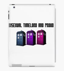Bisexual Timelord and Proud iPad Case/Skin