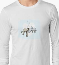Koala and Sloth Sleeping Long Sleeve T-Shirt