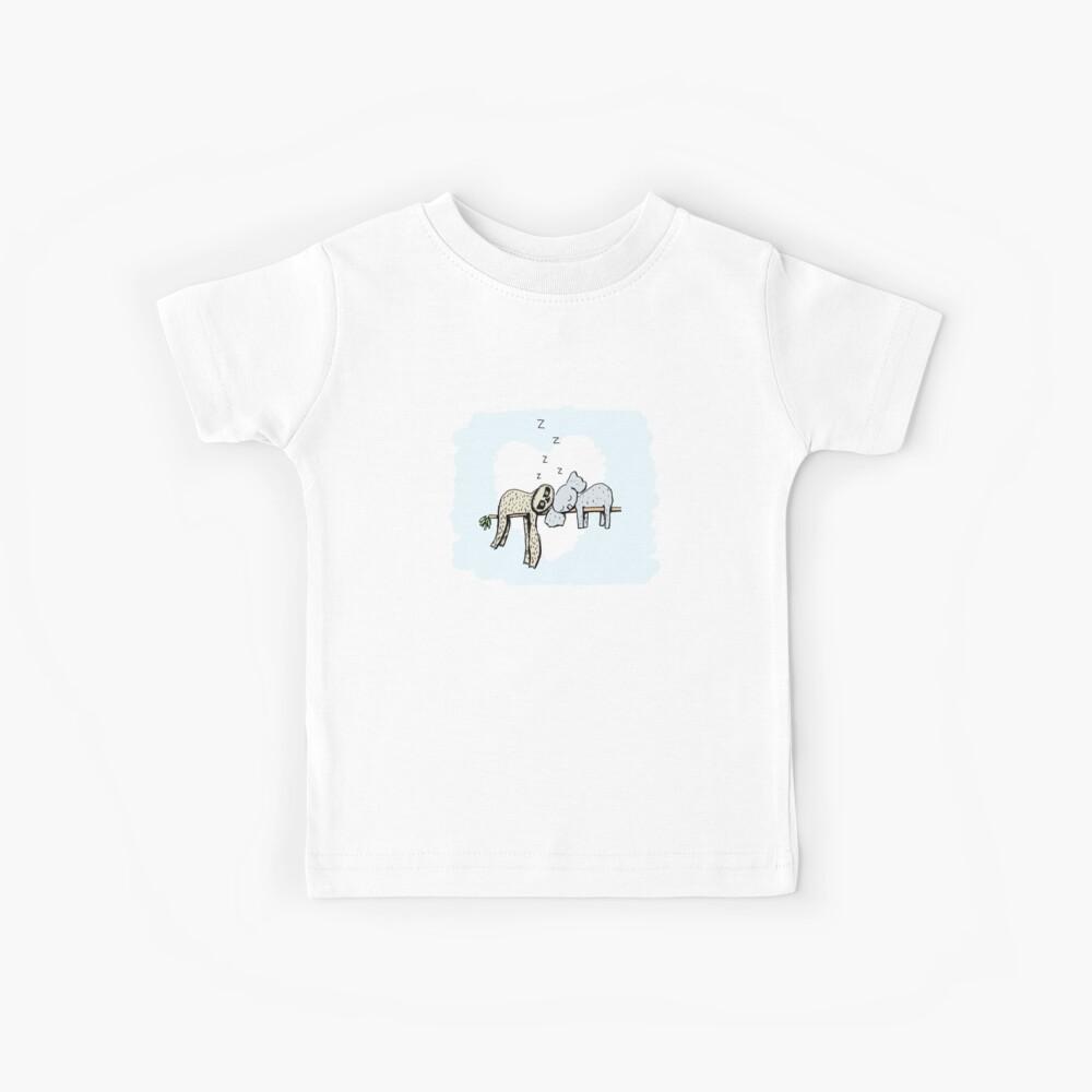Koala and Sloth Sleeping Kids T-Shirt
