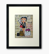 Betty Framed Print