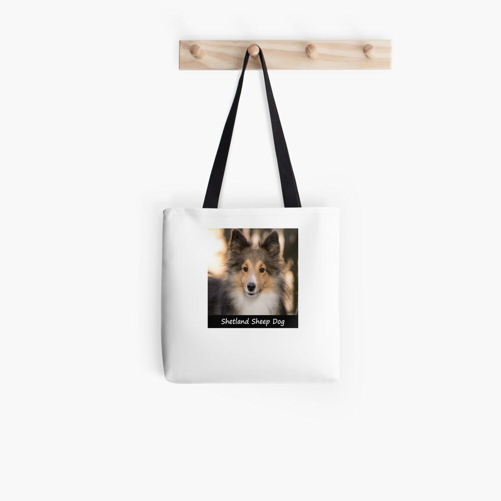 Shetland Sheep Dog Tote Bag