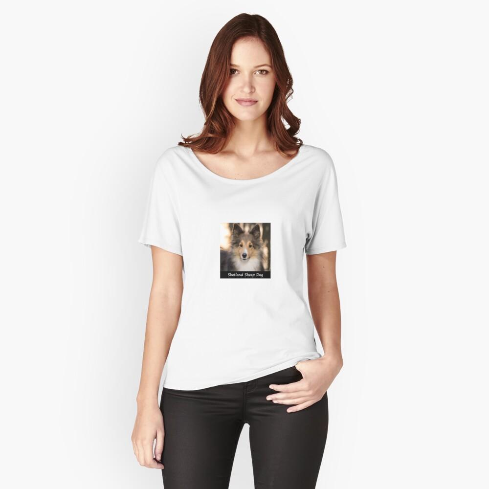Shetland Sheep Dog Relaxed Fit T-Shirt