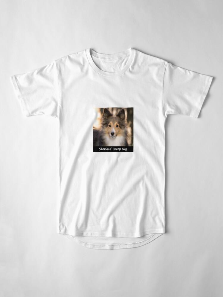 Alternate view of Shetland Sheep Dog Long T-Shirt