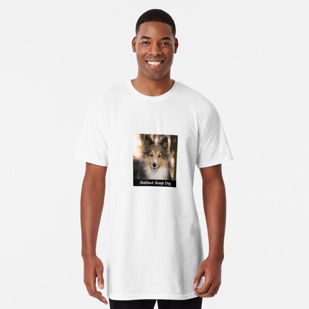 Shetland Sheep Dog Long T-Shirt