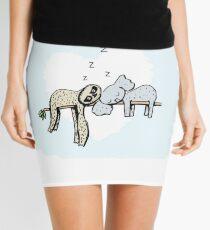 Koala and Sloth Sleeping Mini Skirt