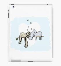 Koala and Sloth Sleeping iPad Case/Skin