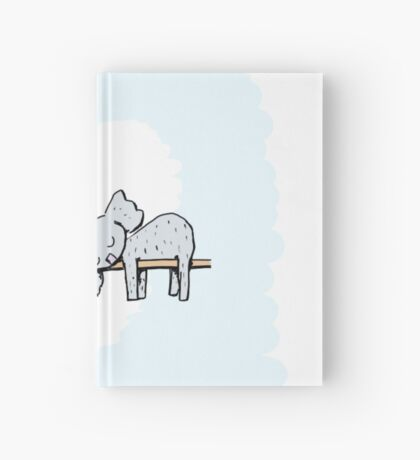 Koala and Sloth Sleeping Hardcover Journal
