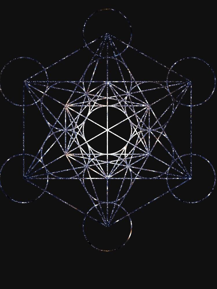 Metatron's Cube Star Cluster - Sacred Geometry by SirDouglasFresh