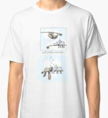 Koala and Sloth - Sleeping Together Cartoon Classic T-Shirt