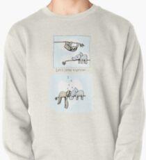 Koala and Sloth - Sleeping Together Cartoon Pullover Sweatshirt