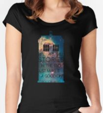 We Are All Stories Women's Fitted Scoop T-Shirt