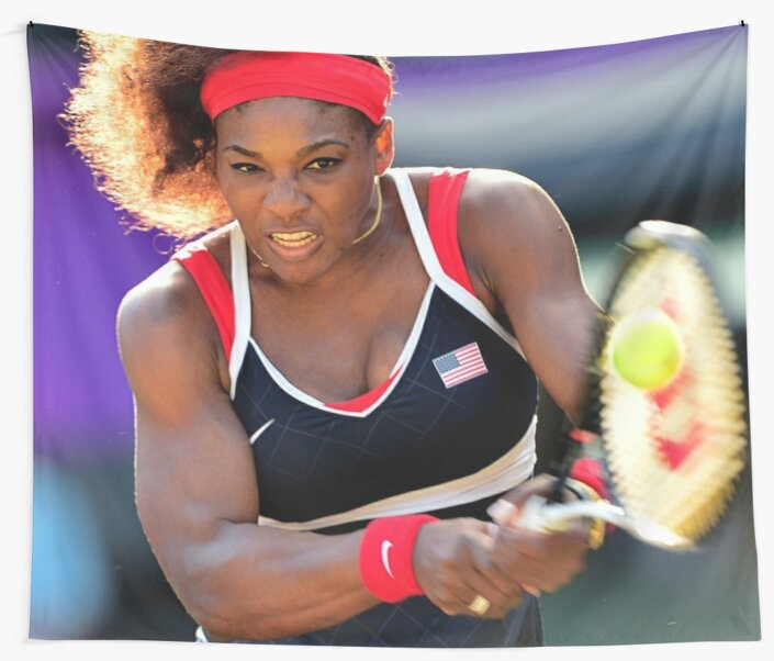SERENA WILLIAMS TENNIS Poster Choose a Size #001