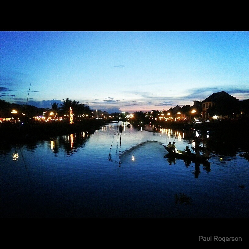 A river in Hoi an. by Paul Rogerson
