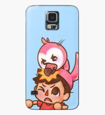 Funda/vinilo para Samsung Galaxy AlbertsStuff Flamingo