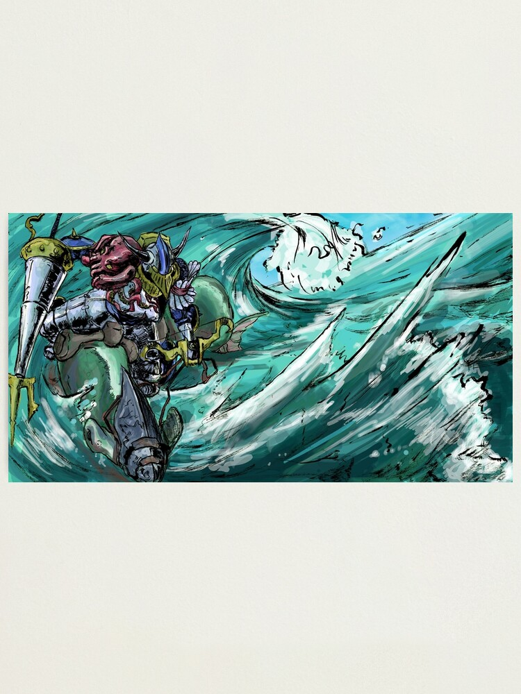 Alternate view of Wave-Rider Knight  Photographic Print