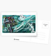 Wave-Rider Knight  Postcards