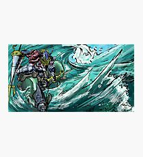 Wave-Rider Knight  Photographic Print