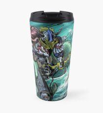 Wave-Rider Knight  Travel Mug