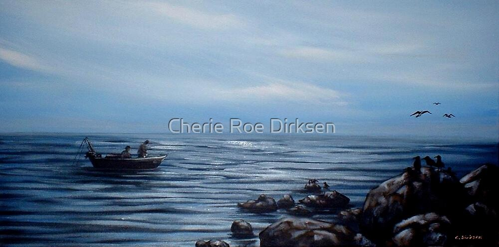 Early Morning Fishermen by Cherie Roe Dirksen