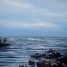 Early Morning Fishermen by Cherie Roe Dirksen
