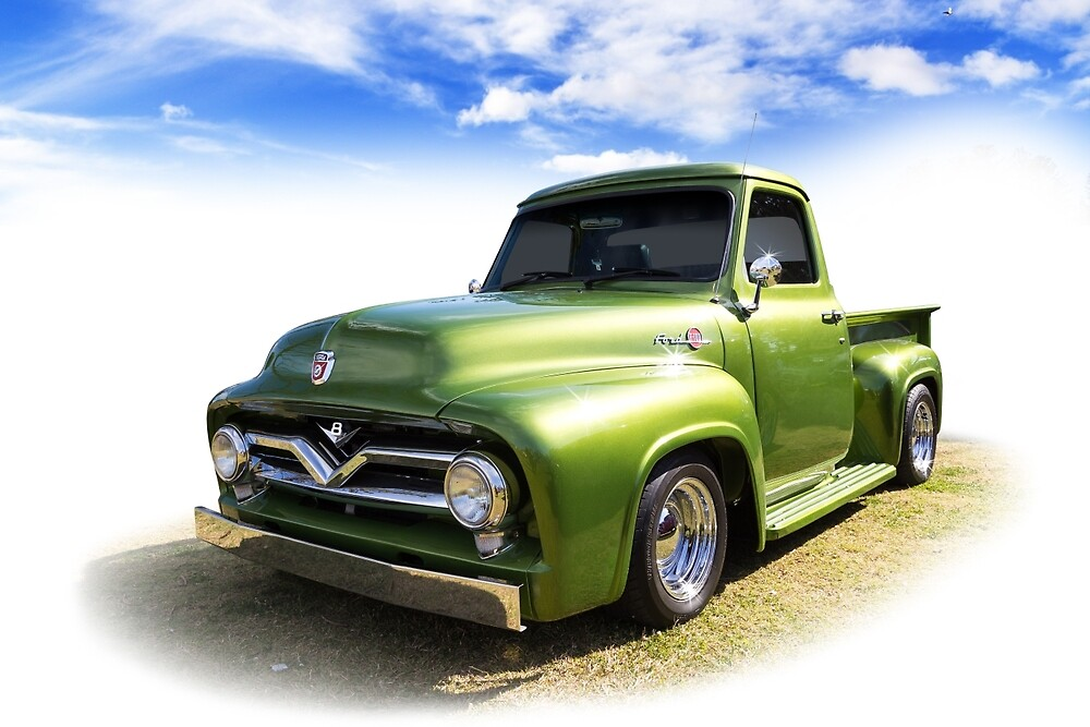 Fifties Ford by Keith Hawley