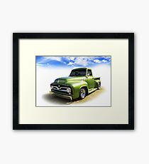 Fifties Ford Framed Print