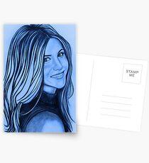 Jennifer Aniston celebrity portrait Postcards