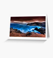 Electric Ocean - Thunder Point Greeting Card