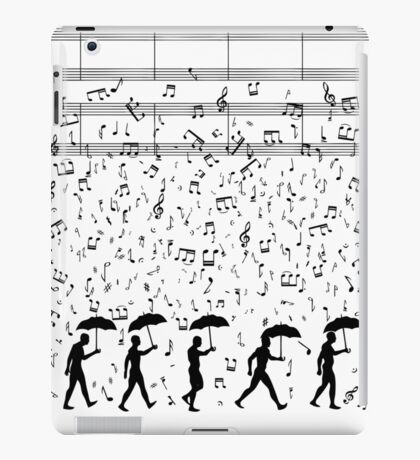 Singing in the Raaaain iPad Case/Skin