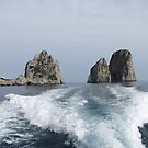 The Faraglioni Rocks by jules572