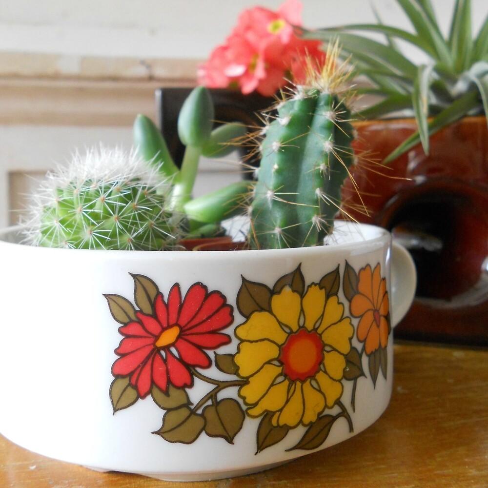 Vintage Cactus by hipaholic