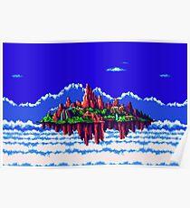 Floating Island (Angel Island) sonic 3+K Poster