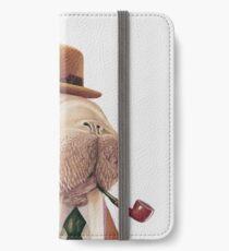 Walross iPhone Flip-Case/Hülle/Skin