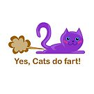 Cat fart by geekgifts