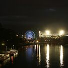 Lights on at the G, Melbourne by Leigh Penfold