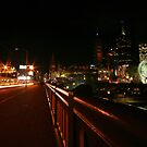 City Traffic on St Kilda Road, Melbourne by Leigh Penfold
