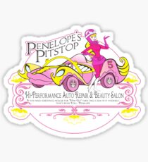 Penelope Pitstop - Penelope's Pitstop T. Sticker