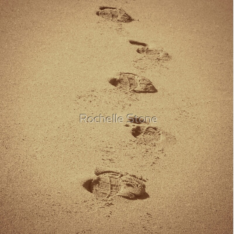 Enchanting Footprints In The Sand Wall Decor Component - Wall ...