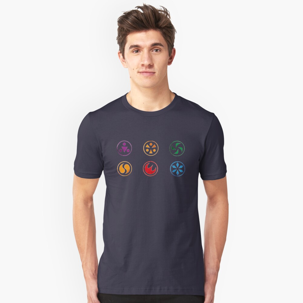 Medalions Unisex T-Shirt Front