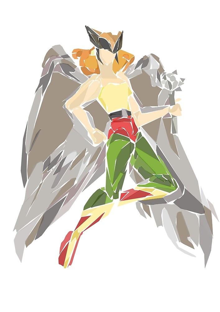 Hawkgirl by newtegan