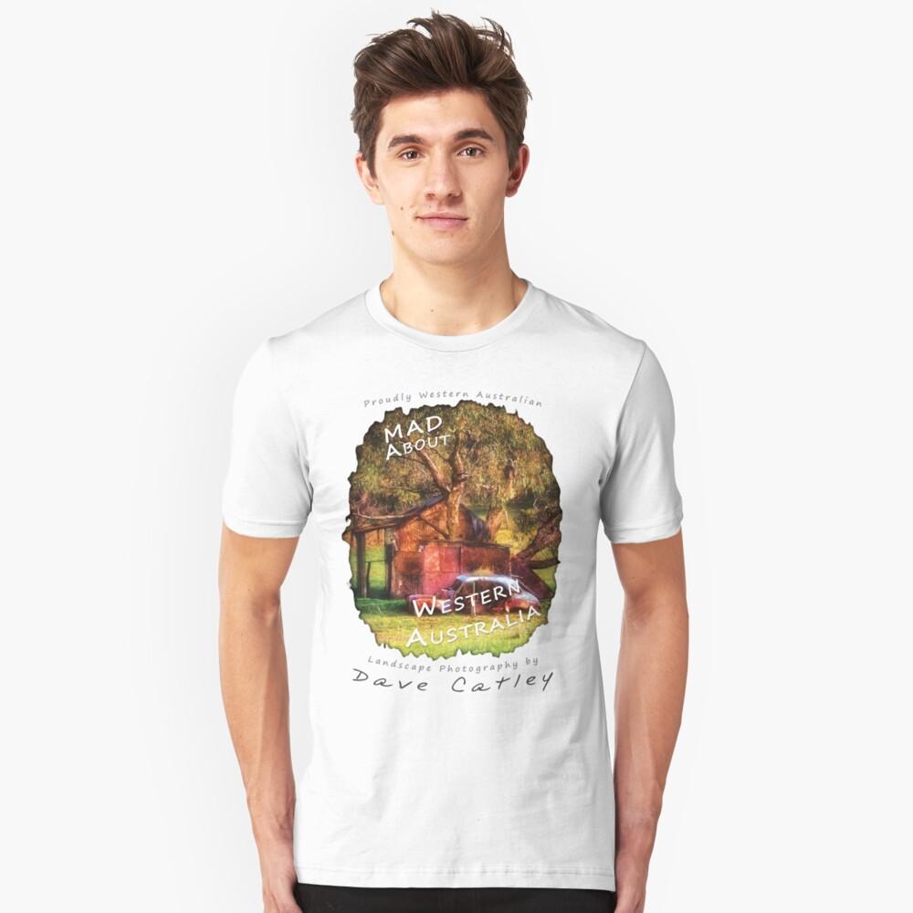 Dave Catley Landscape Photographer - Fine Art T-Shirt (Wanneroo Cottage) Unisex T-Shirt Front